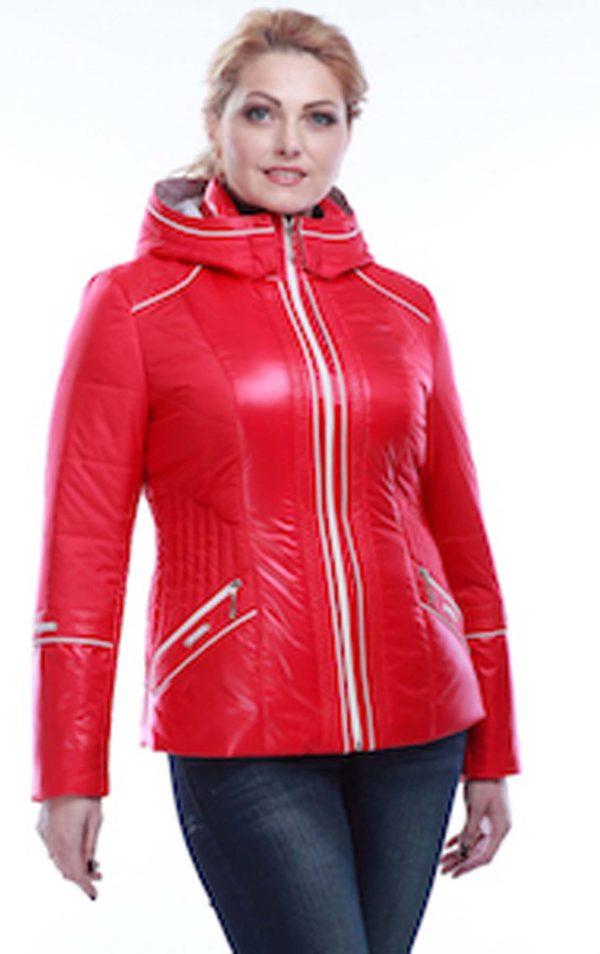 Куртка Кира 2 ярко-красный