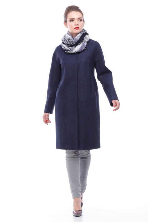 Пальто Nick Лукреция темно-синяя