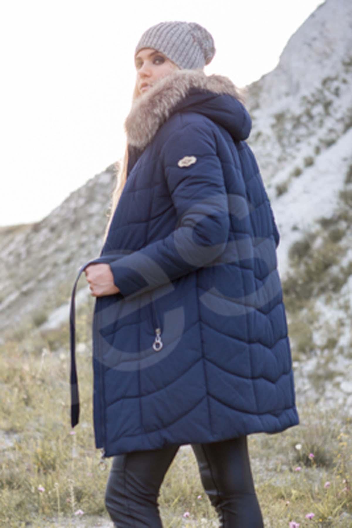 Зимова куртка Арізона, memory oil темно-синій