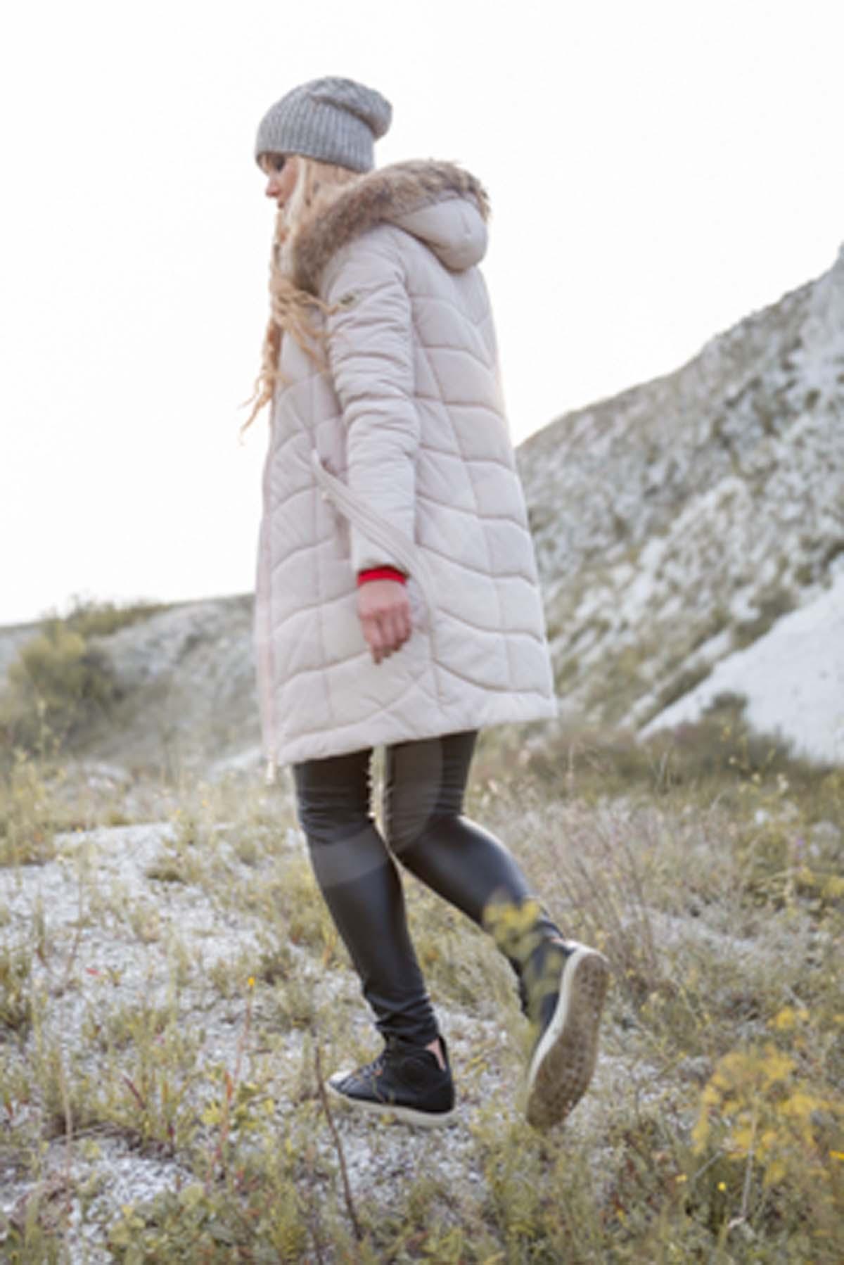 Зимова куртка Арізона, memory oil зефірний