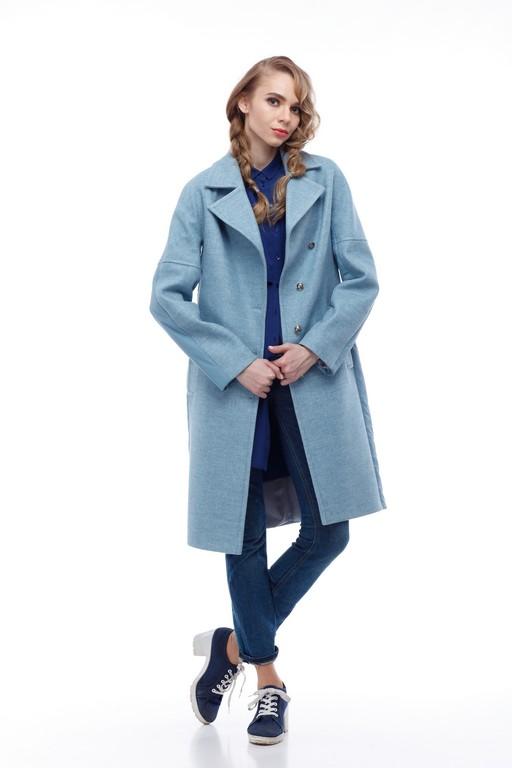 Купить Пальто стеганное Монреаль морской зеленый шерсть _nick_