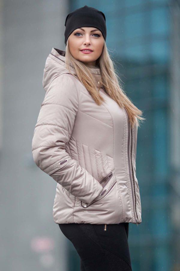 Куртка Кира 2 латте