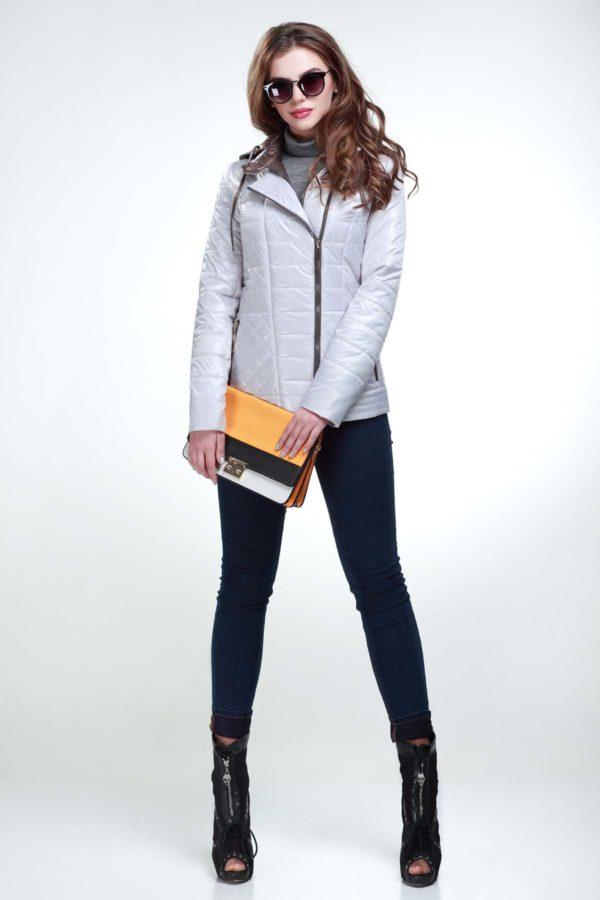 Куртка Жасмин пломбір + грибний