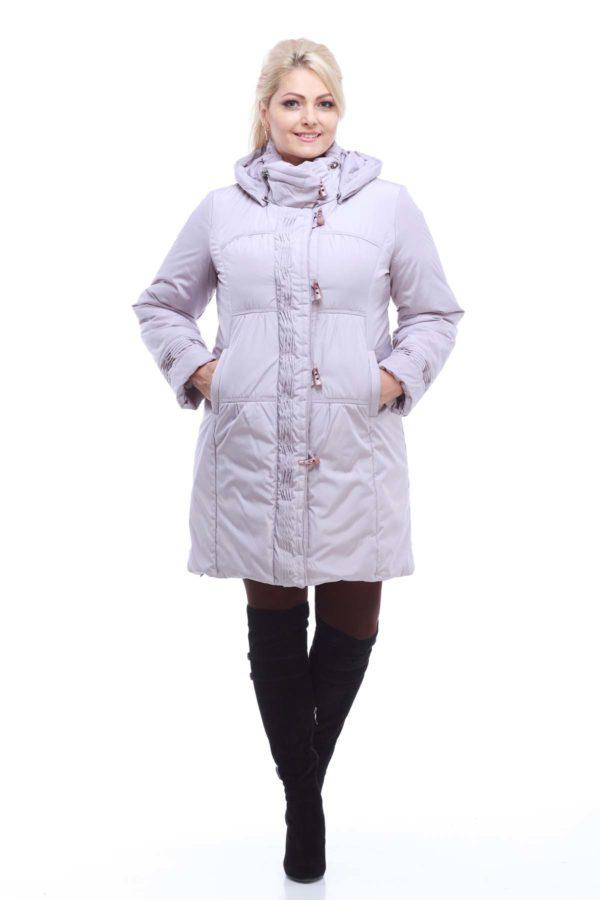 Зимова куртка Беатріс, memory пудра
