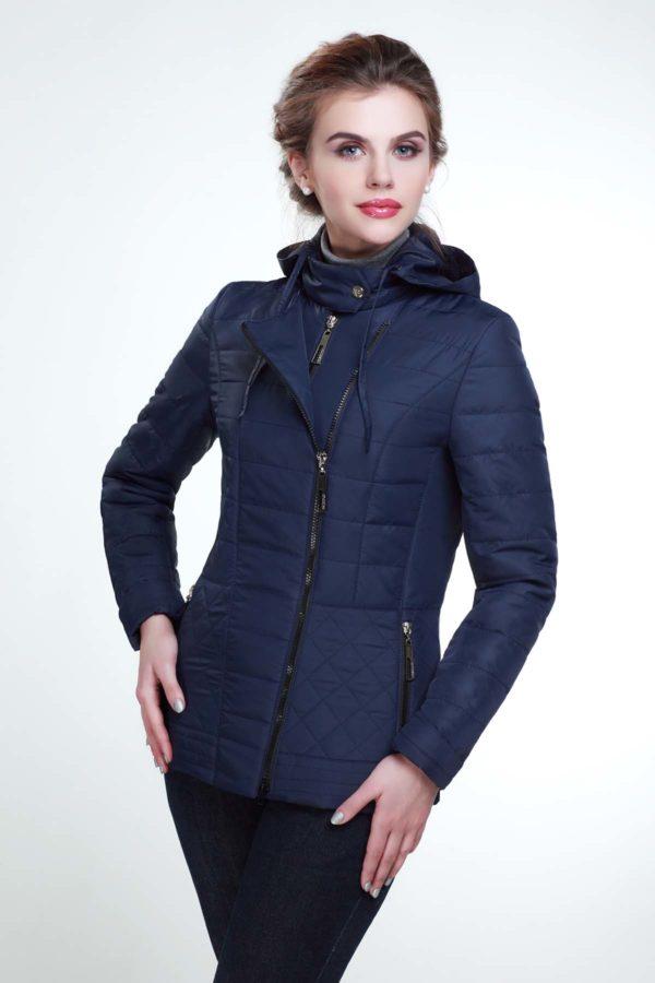 Куртка Жасмин темно-синій
