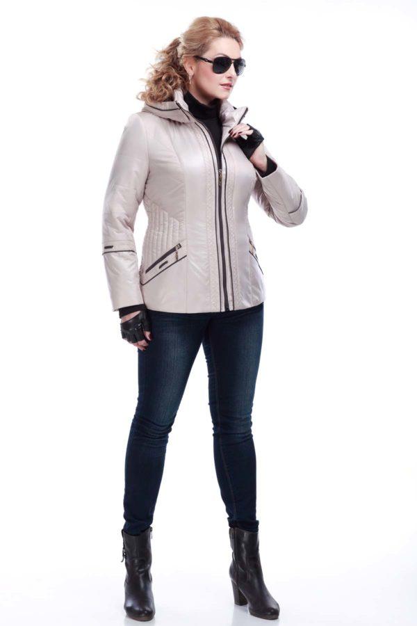 Куртка Кира 2 зефирный