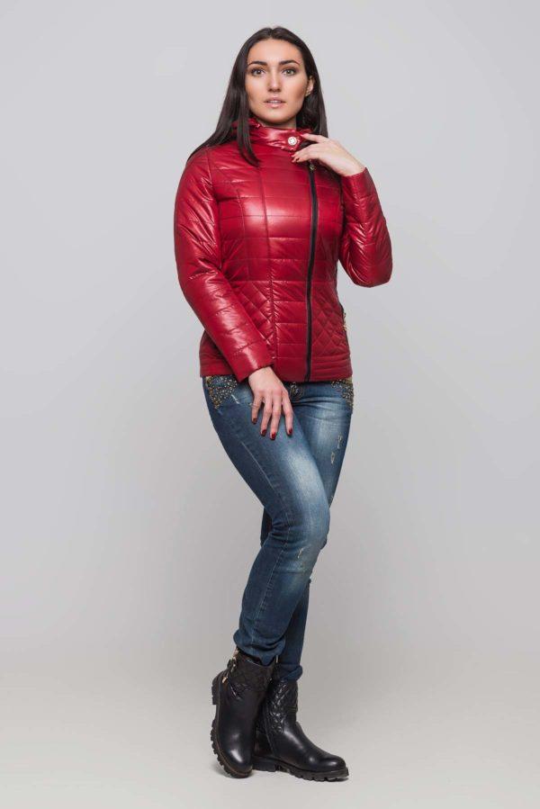 Куртка Жасмин темно червоний
