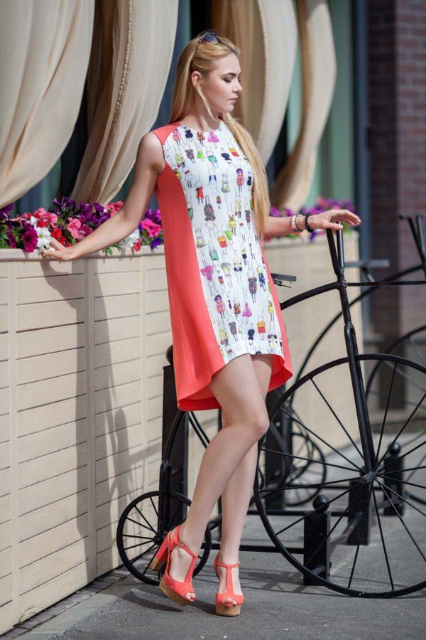 Платье Габбі світло-малиновий