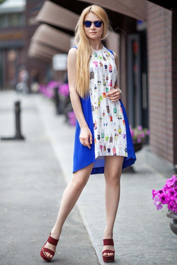 Купить платье Габби василек