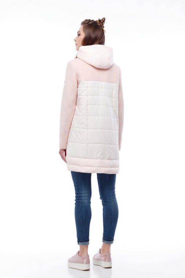 Купить пальто оптом Эрика персик+персик lana ful dal