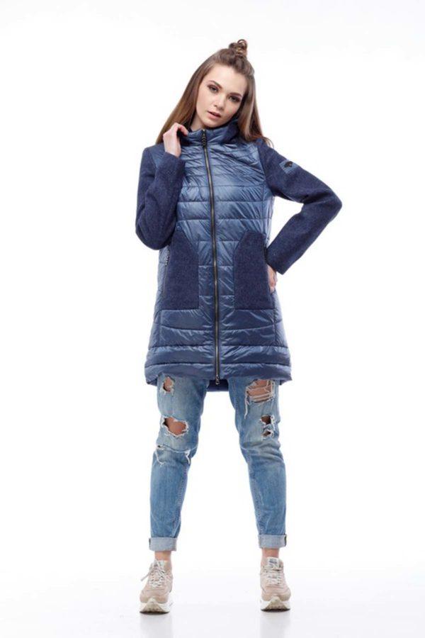 Пальто Еріка синій