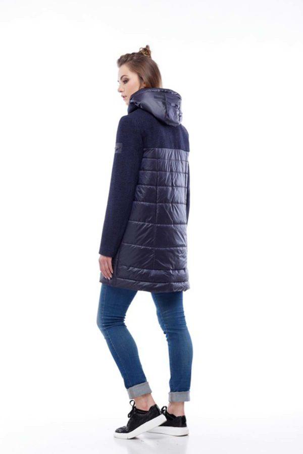 Пальто Еріка темно-синій