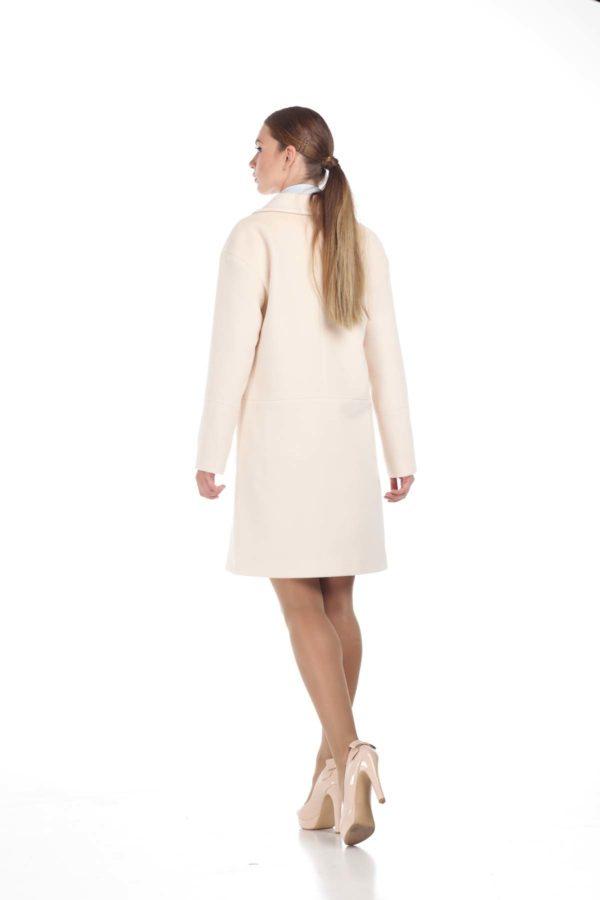 купити пальто оптом від виробника Шерсть Італія молоко