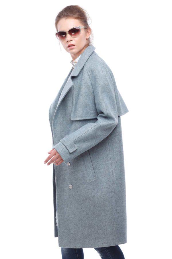Купить пальто осень Nick Фелиция аквамарин