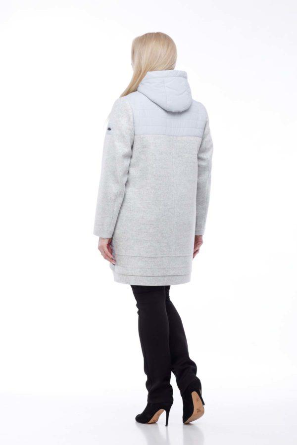 Пальто Эмма жемчужно-серый ful dal