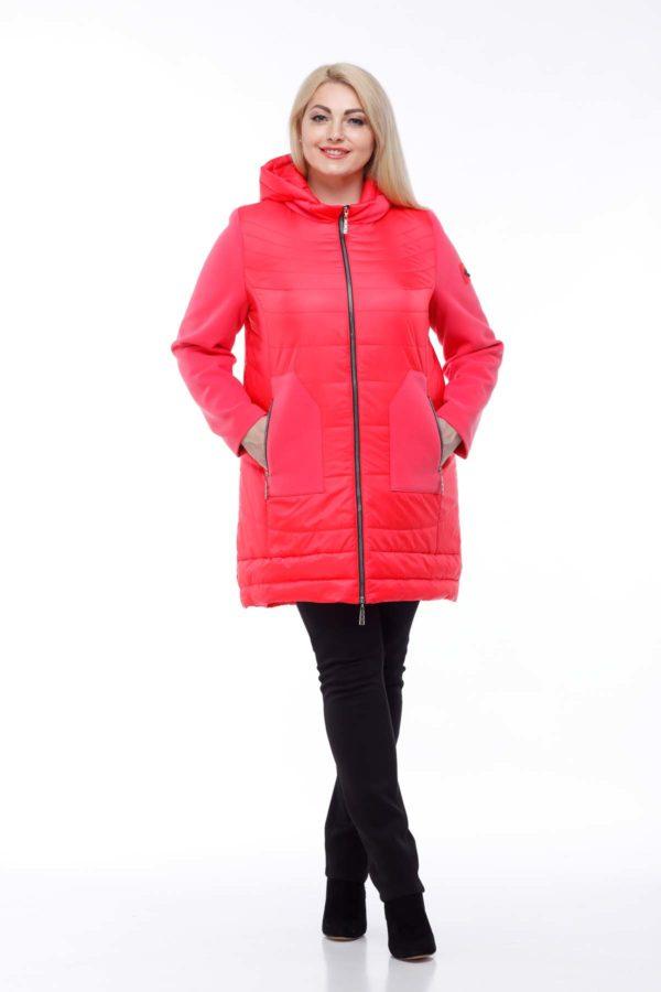 Купить пальто оптом Эрика коралл ful dal