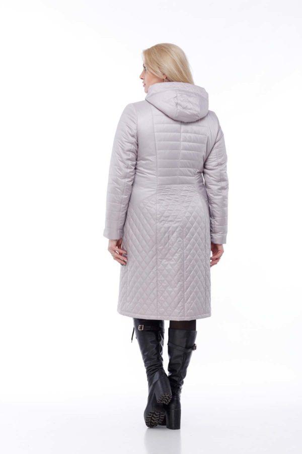 купить стеганое пальто весна Стежка фраппе 52 размер ful dal