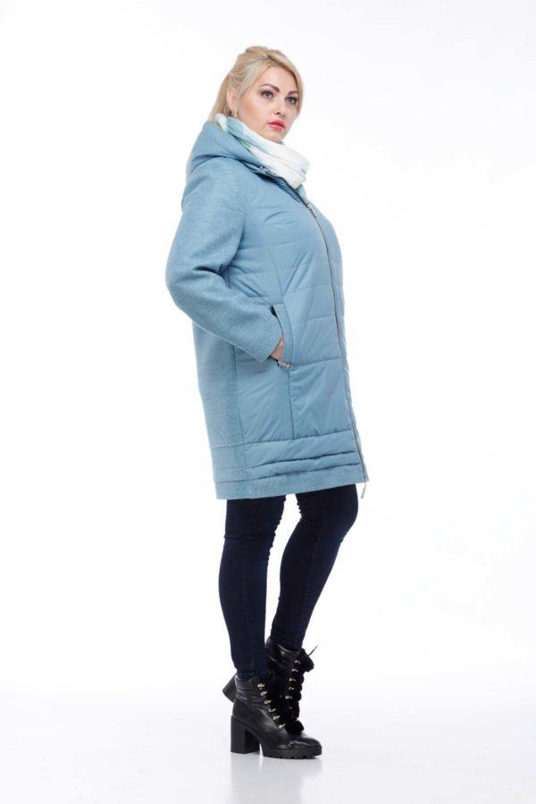 Пальто Эмма морской зеленый 52 размер ful dal