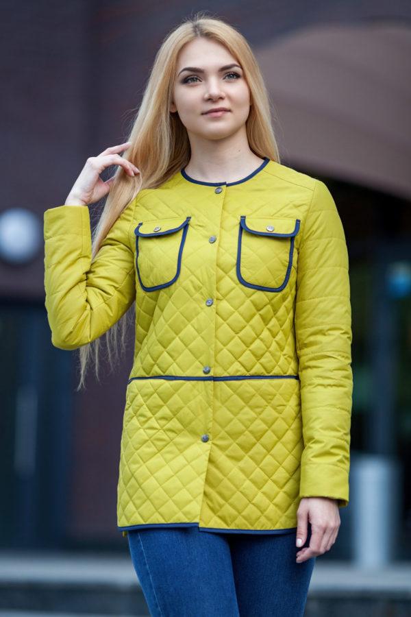 Купить куртку оптом Челси лайм memory oil