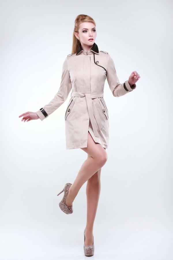 куртки женские украина Парма пшеничный коттон