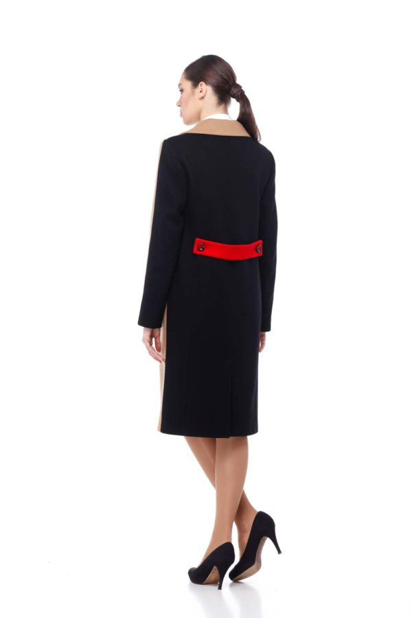 купити пальто жіноче київ магазини Тара Melton Тара Кемел червоний чорний