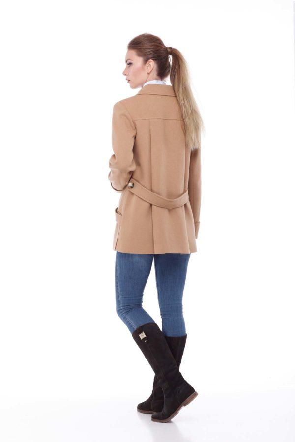 пальто женское Melton Риана кэмел