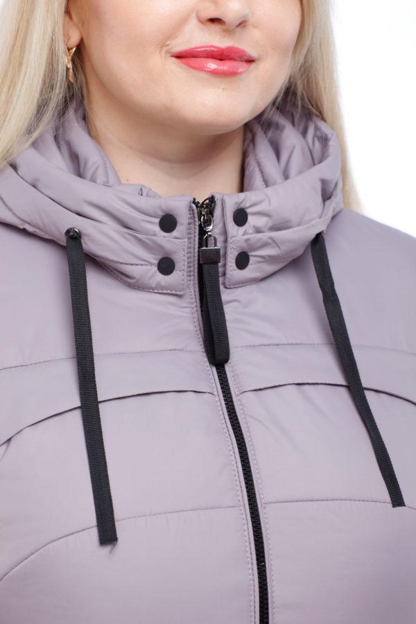 Курточка Фристайл темно-сиренево-дымчатый большой размер ful dal