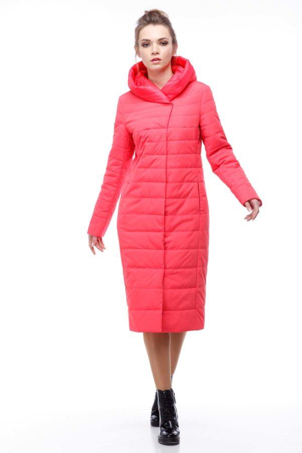 купить стеганое пальто от производителя Сима коралл коралл ammy