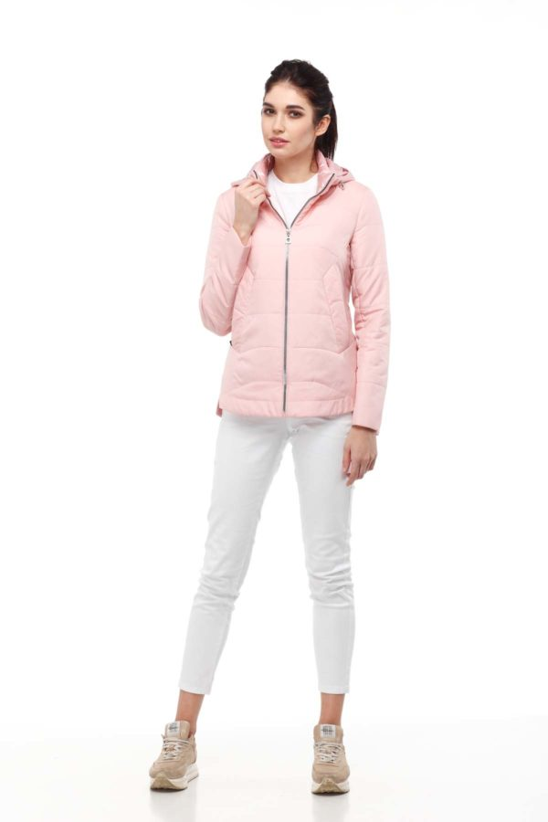 Амина розовый меланж