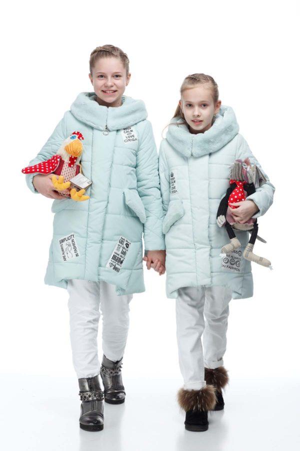 Дитяче пальто стьогане ЮТА Канада