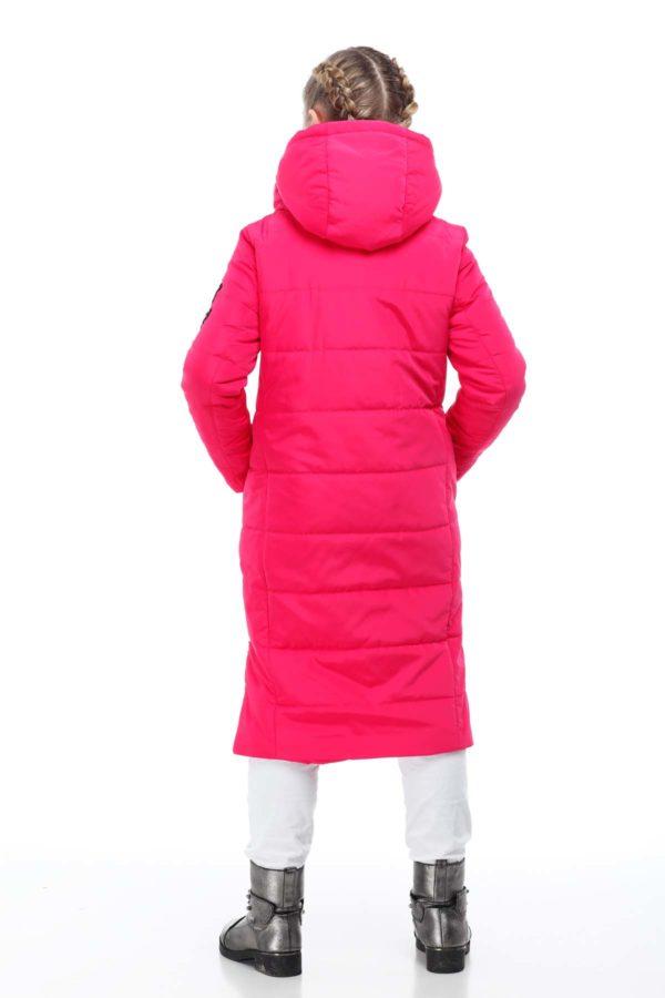 Дитяче пальто стьогане ВЕРОНИКА ammy фуксія