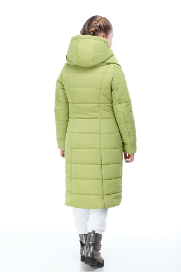 Дитяче пальто стьогане КОМІЛЬФО ammy салатний